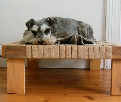This raised doggy bed is the perfect resting place for your pup