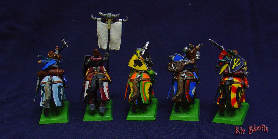 Sir Skofis S Workshop Bretonnian Questing Knights
