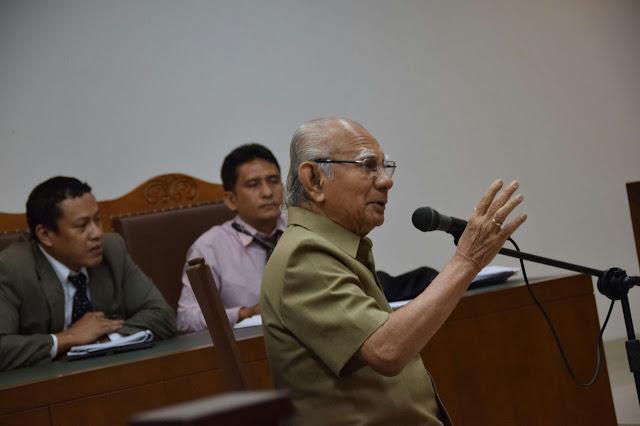 Emil Salim : Wilayah Leuser Harus Masuk dalam Qanun RTRW Aceh