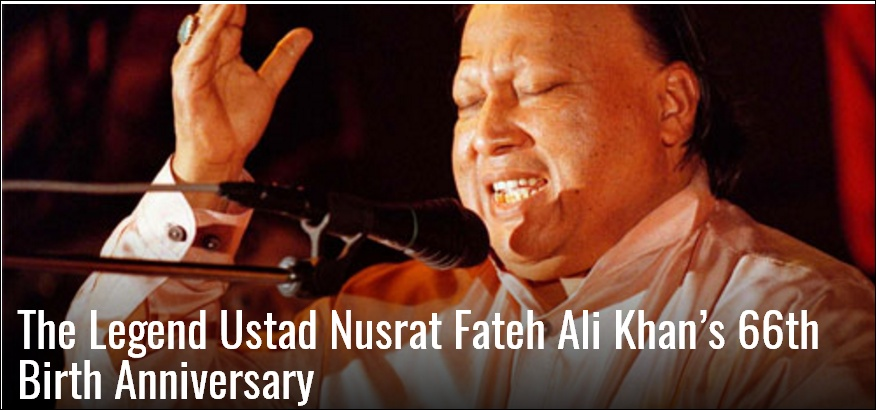 66th Birth Anniversary of The Greatest Nusrat Fateh Ali Khan | NusratSahib.Com
