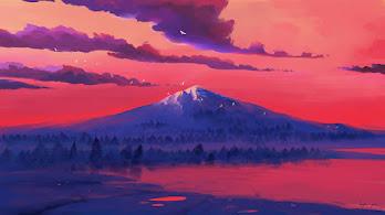 Nature, Mountain, Lake, Digital Art, 4K, #6.1269