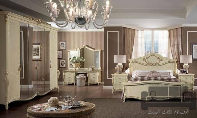 الوان غرف نوم كاملة، صور احدث غرف نوم، غرفة نوم كلاسيك سكري, اجمل الوان اوض النوم, الوان غرف نوم, ديكورات غرف نوم