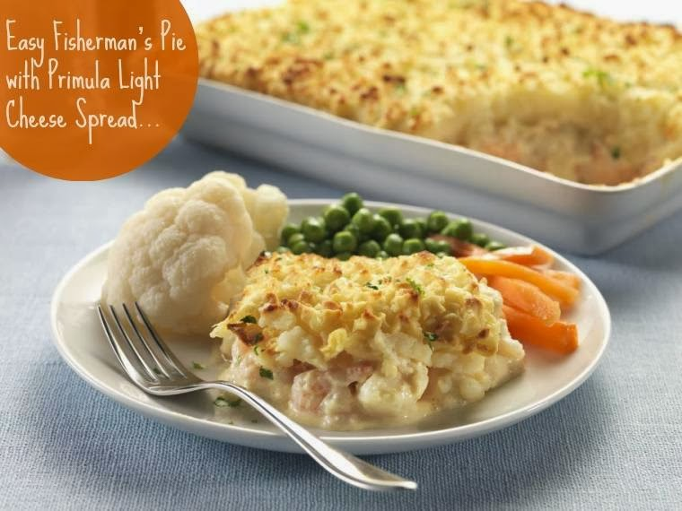 Easy Fisherman's Pie with Primula Light Cheese Spread