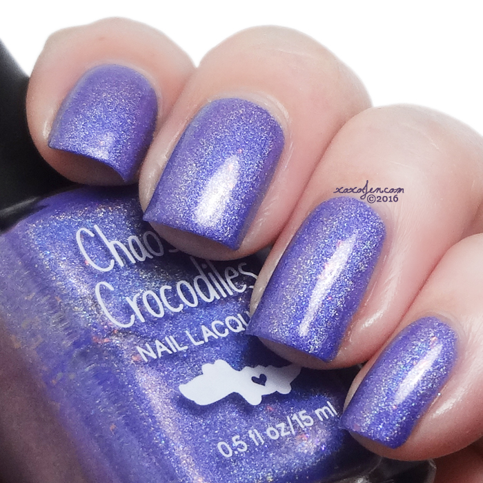 xoxoJen's swatch of Chaos & Crocodiles