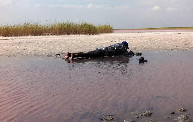 розовая вода и лечебная грязь Сиваша