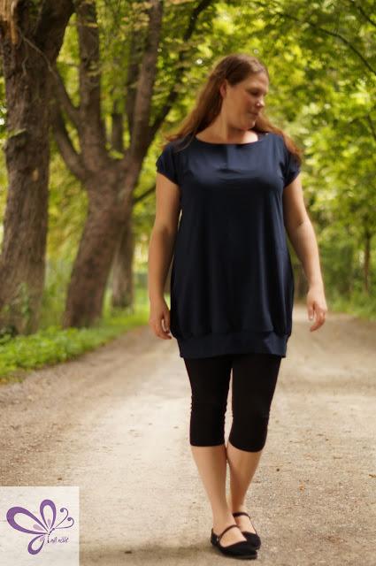 Selfmade Short Dress, kaidso onlinekurse, shirt maritim,