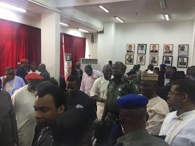 PDP now house of commotion as caretaker committee members take over leadership of the party 888