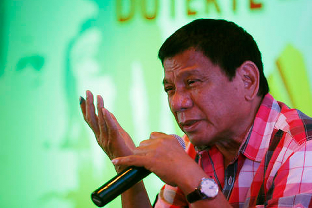 DUTERTE TO CABINET : NO CORRUPTION ALLOWED