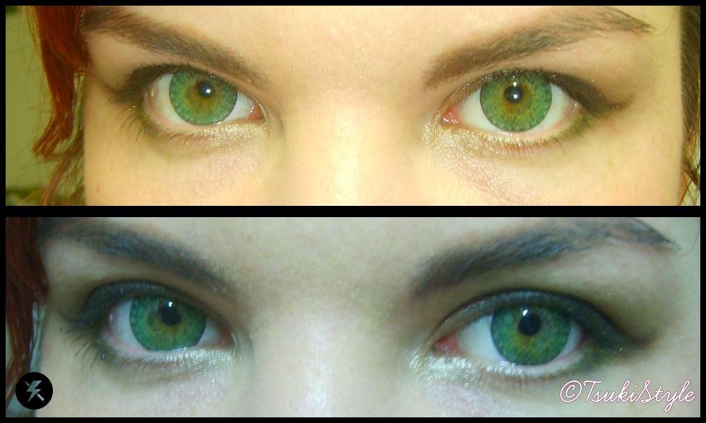 geo xtra 3 tone green eyes