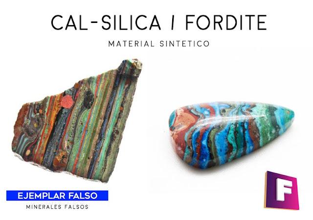 cal-silica fordita minerales falsos | foro de minerales