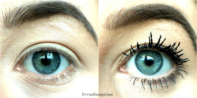 L'Oreal Telescopic False Lash Mascara Before and After