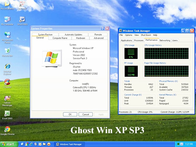 BAN GHOST WIN XP SP3 TU NHAN TREIBER WINDOWS 8