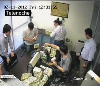 """El juez federal Sebastián Casanello confirmó que los videos publicados sobre el conteo de dólares en la """"La Rosadita"""" son pruebas válidas para la investigación de la ruta del dinero K."""