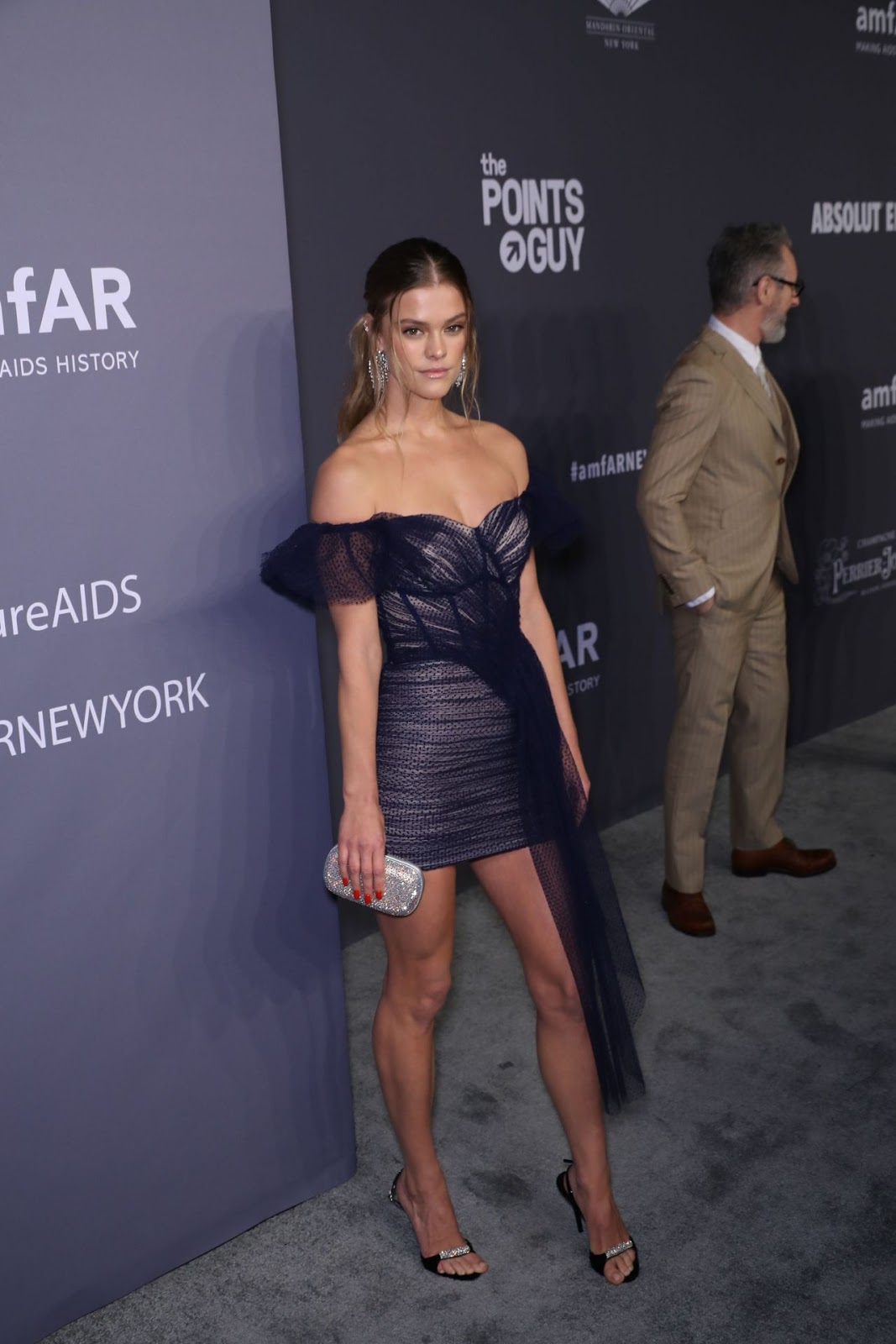 Nina Agdal - amfAR New York Gala in NYC - 02/06/2019