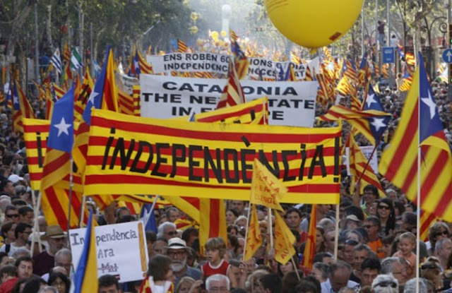 Глазами жителя Каталонии о референдуме об независимости Каталонии. Инсайд