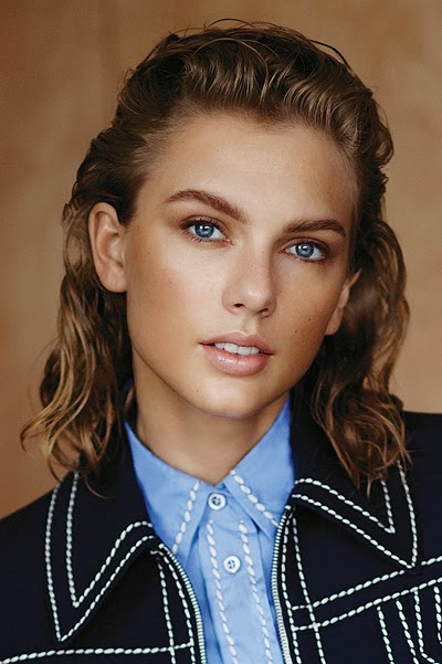 Taylor tried on three retro image, inspired by key fashion trends of the past century