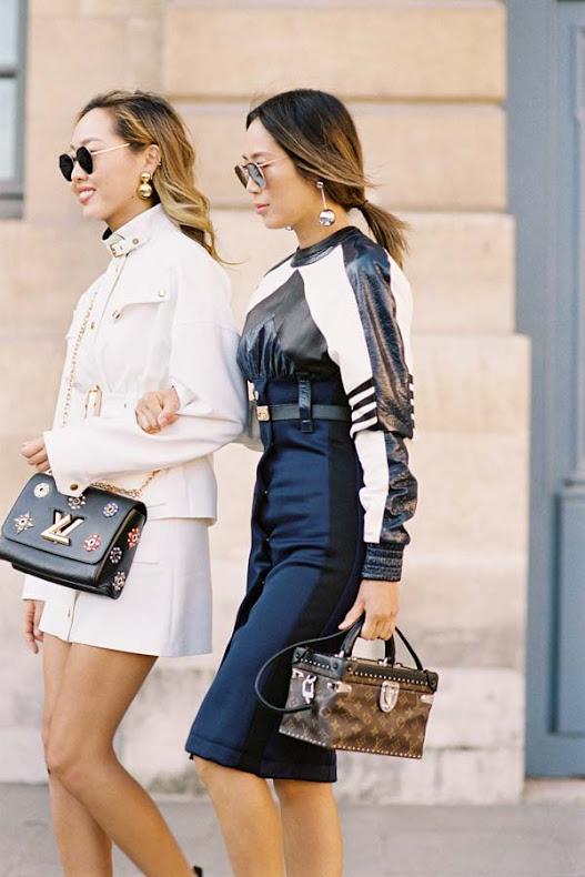 Aimee-Song-Dani-Song-style-at-Paris-Fashion-Week-Spring-Summer