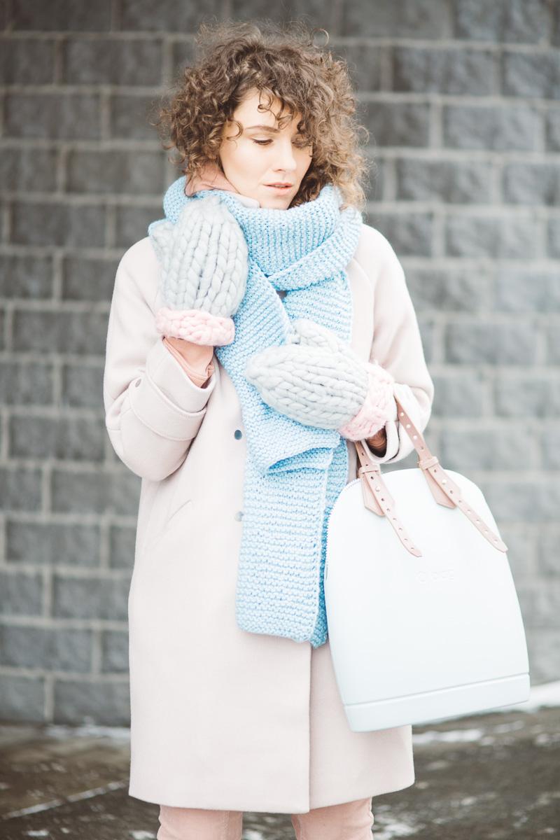 зимняя пастель