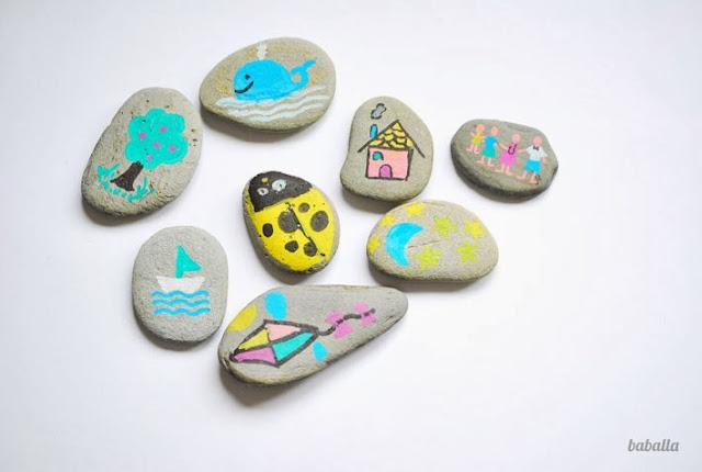 juego creativo con piedras