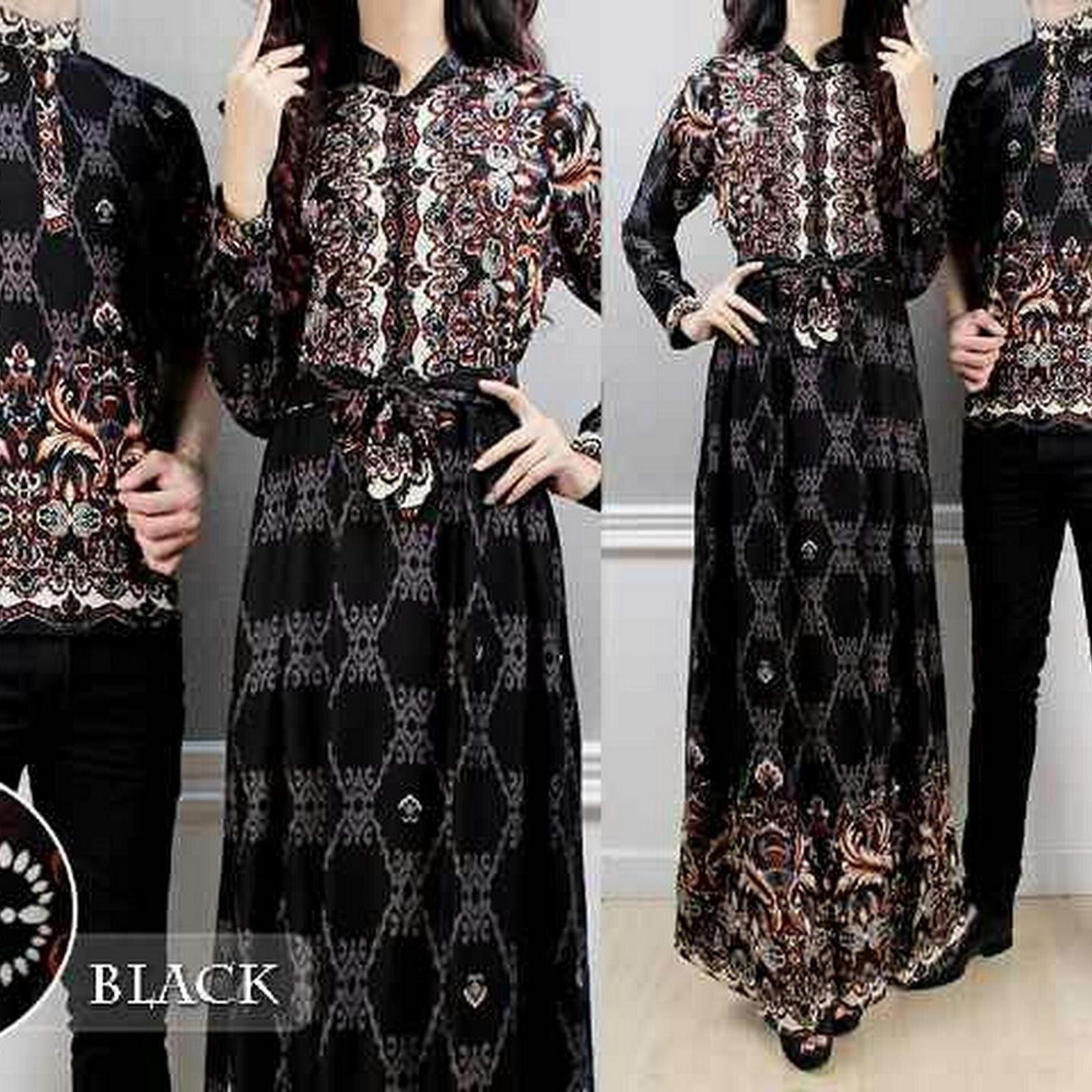 Baju Batik Couple Cantik c24ed38a8d
