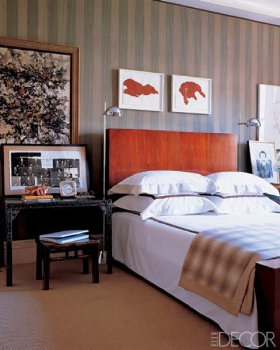 Cozy Masculine Bedroom Design Ideas