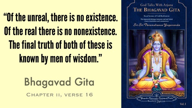 The Bhagavad Gita. What is this book about?