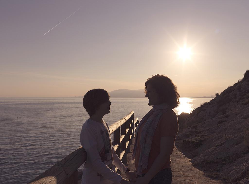 Sesión de fotografía infantil La Cala del Moral. Málaga