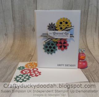 Craftyduckydoodah!, Stampin' Up! UK Independent  Demonstrator Susan Simpson, Classic Garage Suite, Geared Up Garage, Supplies available 24/7 from my online store,  #JOSTTT001, #simplestamping,