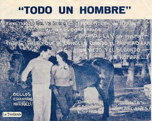 Todo un Hombre - Programa de Cine - Raúl Talán - Maria Luisa Zea