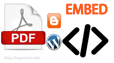 How To Embed a Pdf and other Documents in Blog Post or Site