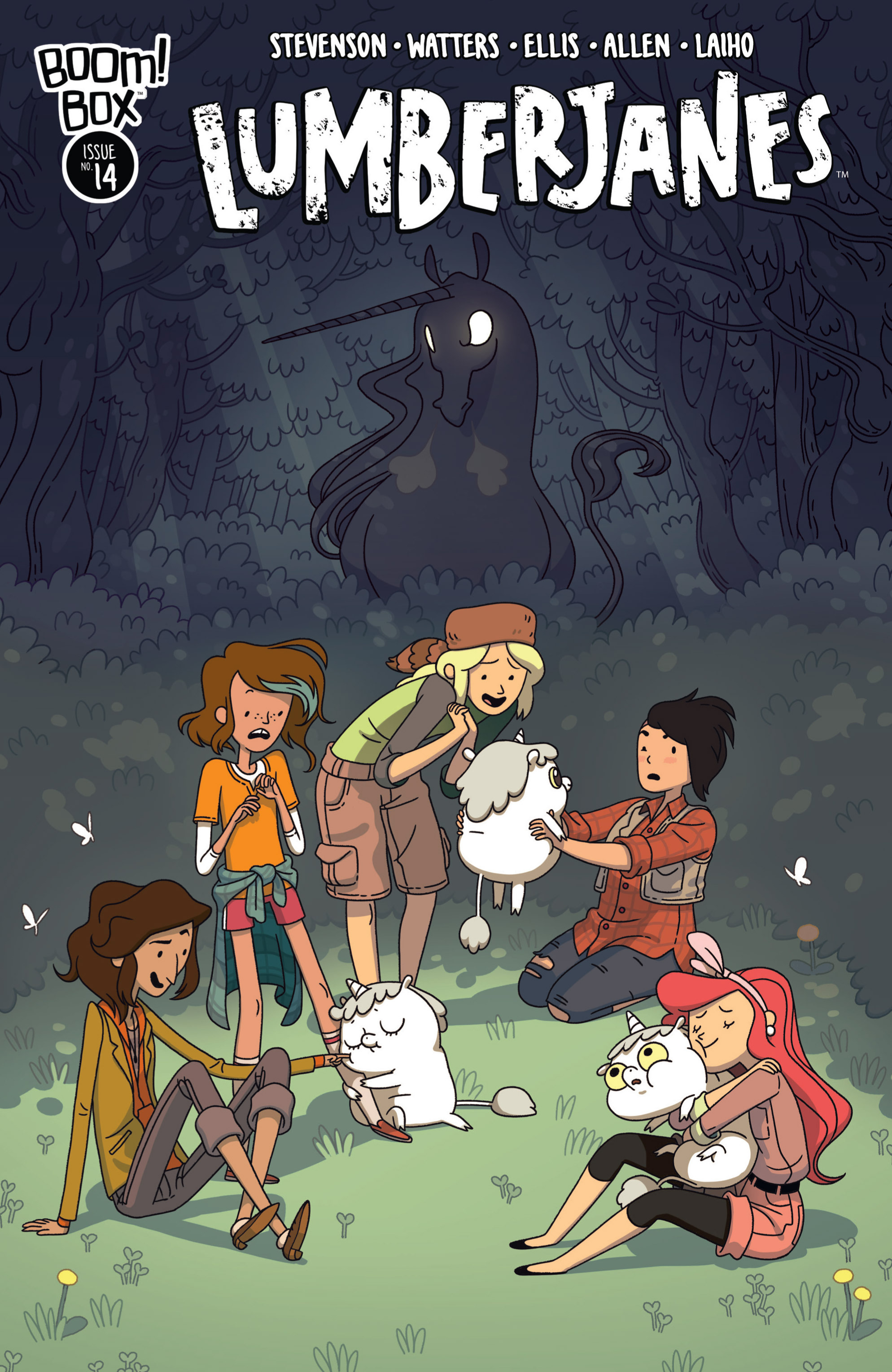 Lumberjanes 14 Page 1