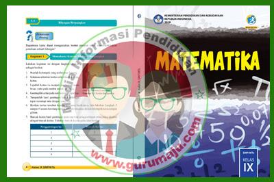 Buku Matematika Kelas 9 Kurikulum 2013 Revisi 2018 Semester 2