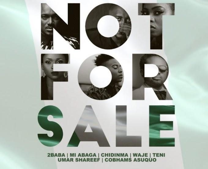 [Music] 2Baba x MI Abaga x Teni x Waje x Chidinma x Cobhams – Not For Sale