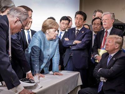 Pertemuan ke 44 Kelompok Tujuh (G7) dimulai pada hari Jumat, 8 Juni di Charlevoix, Quebec, Kanada. Pertemuan tahunan yang dihadiri beberapa negara besar di dunia berkumpul bersama untuk mengkoordinasikan kebijakan ekonomi.