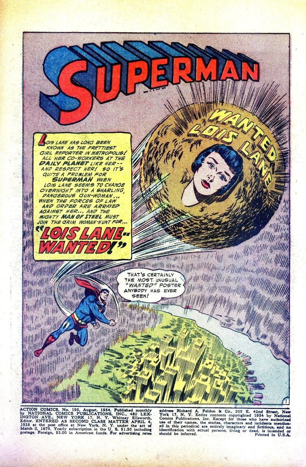 Action Comics (1938) 195 Page 2