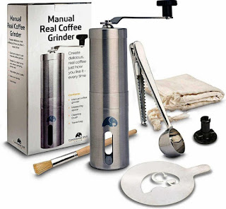 manual coffee grinder as coffee present ideas