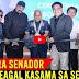 Watch:PNP DELA ROSA AT MIGS ZUBIRI KASAMA SI STEVEN SEAGAL SA SEREMONYA BATO FOR SENATOR