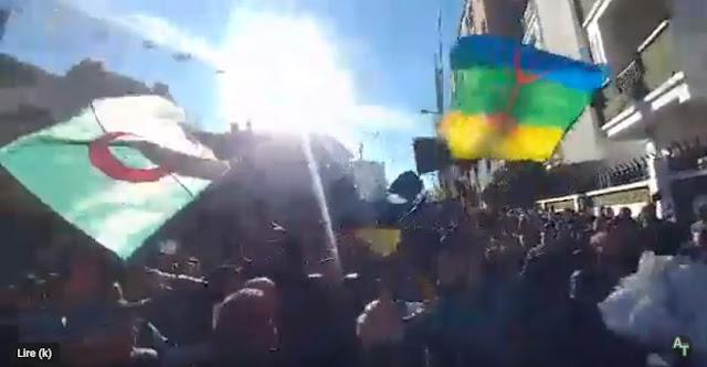 مظاهرات ضد العهدة الخامسة في خراطة ولاية بجاية