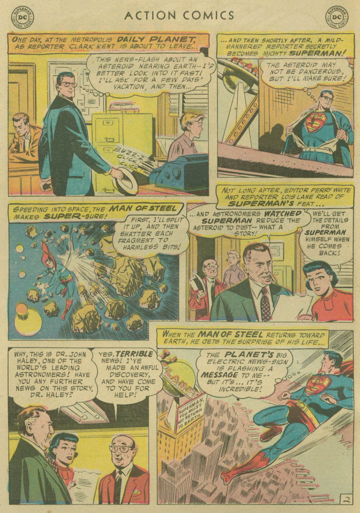 Read online Action Comics (1938) comic -  Issue #229 - 3