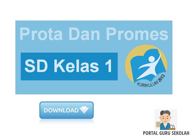 Prota Dan Promes SD Kelas 1 Edisi Revisi Kurikulum 2013