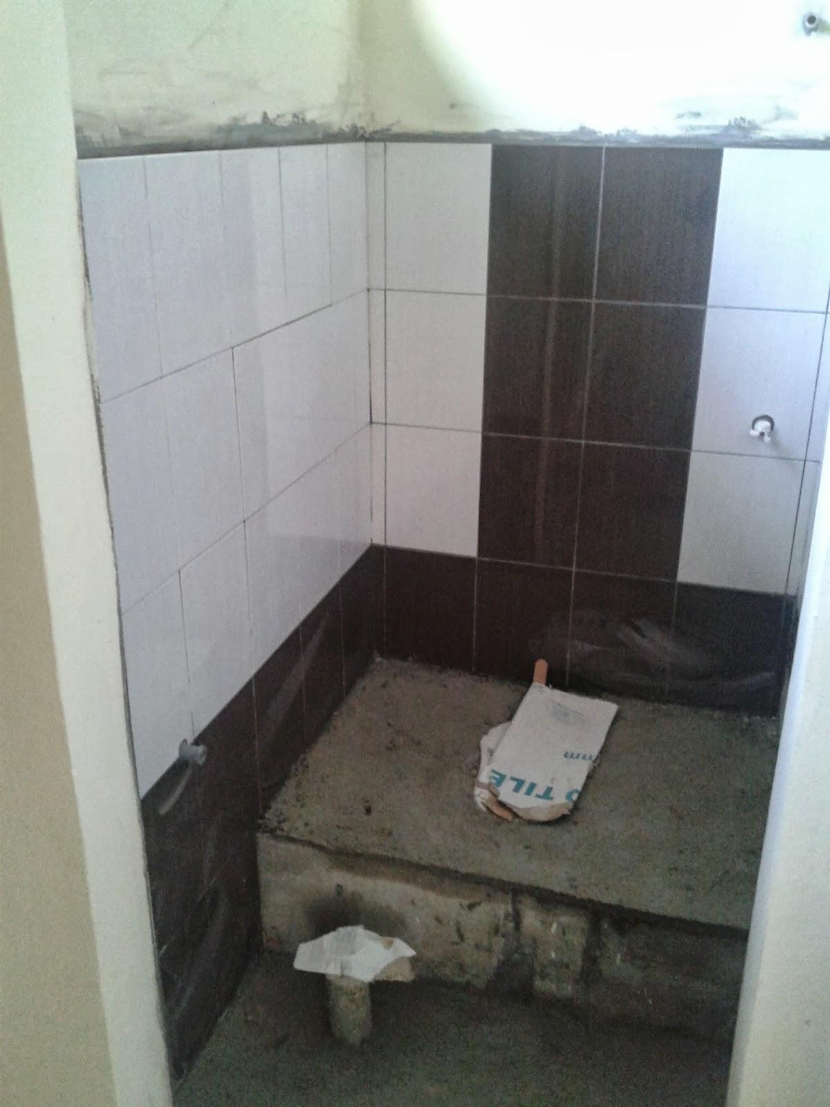 Tile Untuk Bilik Air Tandas Pon Sama Besar Dengan Dapur