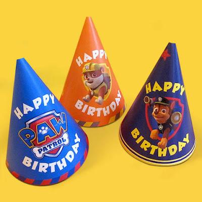 sombreros-cumpleaños-patrulla-canina