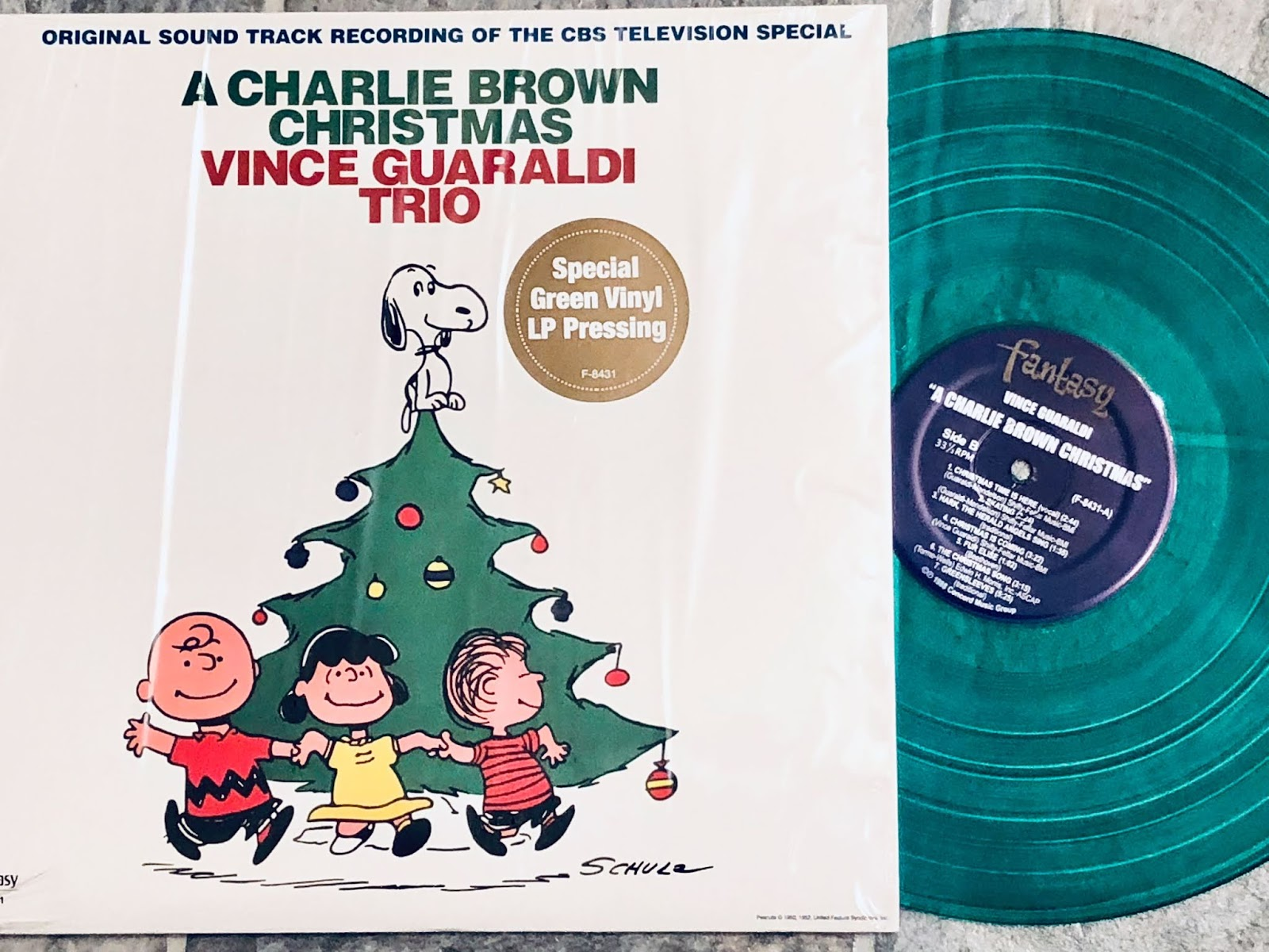 Charlie Brown Christmas Soundtrack.Amy Clary A Charlie Brown Christmas Soundtrack Now On Vinyl