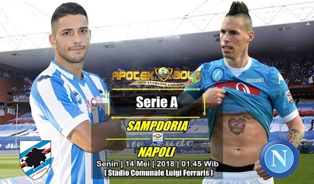 Prediksi Sampdoria vs Napoli 14 Mei 2018