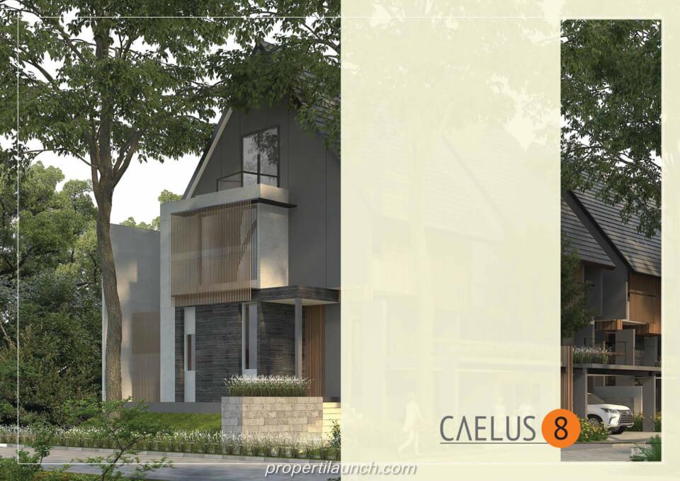 Rumah Cluster Caelus Tipe 8