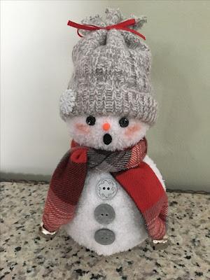 Μαμά σου σχεδίασα ένα χιονάνθρωπο...