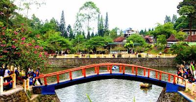 Tempat Wisata Telaga Putri Kaliurang Sleman Yogyakarta