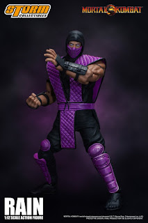 Rain y Smoke 1/12 Scale Action Figure de Mortal Kombat - Storm Collectibles