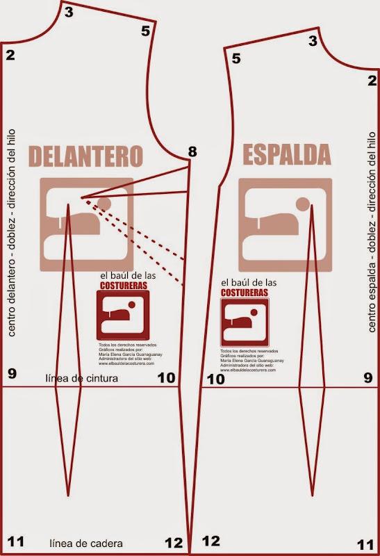 Vestido Recto Patrones Vestidos 50   www.imagenesmi.com
