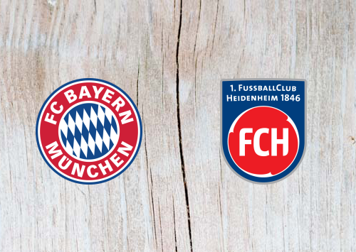 Bayern Heidenheim Highlights